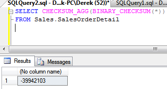 Detect Table Changes