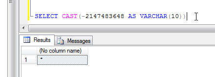 Convert Int to String